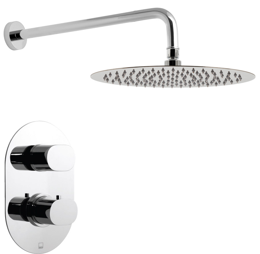 Oval-Shower-head